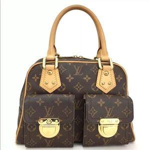 Authentic Louis Vuitton Manhattan PM Purse Bag